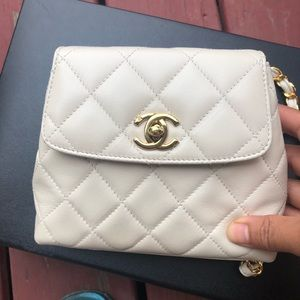 Authentic vintage Chanel mini crossbody